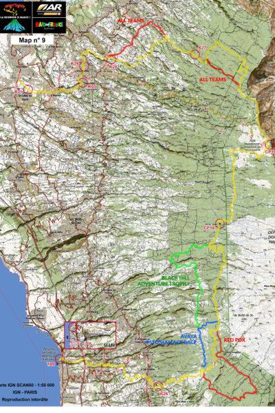 ARWC - mapa - ostatni rower